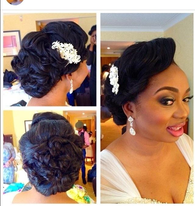Of nigerian wedding hairstyles expensive wedding celebration blog