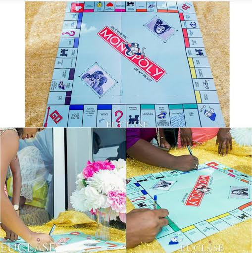 How About Using Your Favourite Board Game As Your Wedding